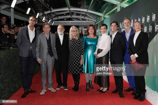 Producer Kurban Kassam Timothy Spall Bruno Ganz director Sally Potter BFI festival director Clare Stewart Kristin Scott Thomas Cillian Murphy...