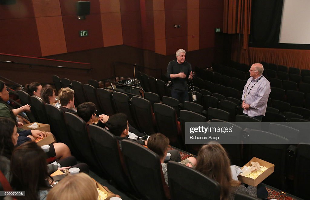 Producer Kurt Norton and Director Paul Mariano speak at the 'Being George Clooney' Q&A at the Metro 3 at the 31st Santa Barbara International Film Festival on February 8, 2016 in Santa Barbara, California.