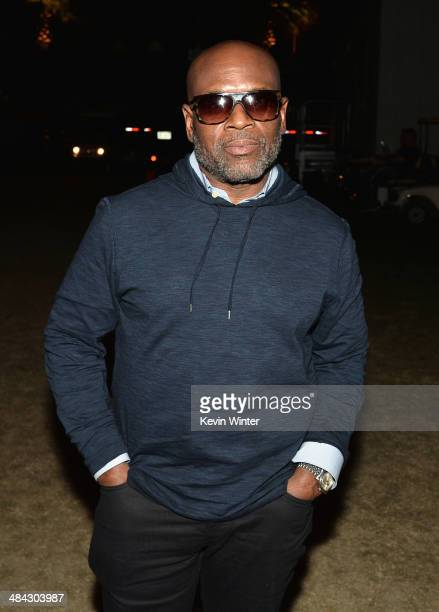 Producer LA Reid attends day 1 of the 2014 Coachella Valley Music Arts Festival at the Empire Polo Club on April 11 2014 in Indio California