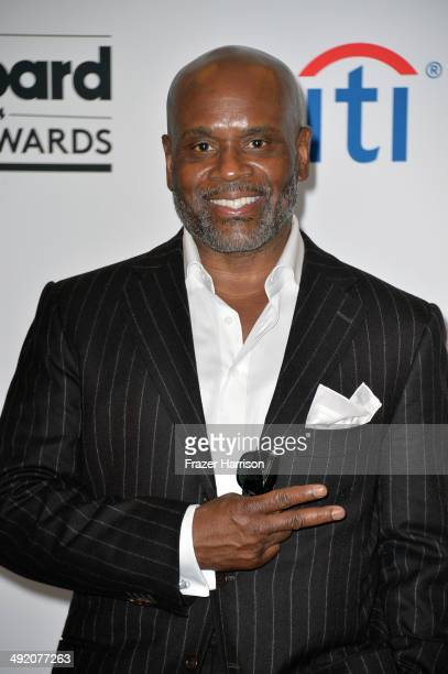 Producer LA Reid poses in the press room during the 2014 Billboard Music Awards at the MGM Grand Garden Arena on May 18 2014 in Las Vegas Nevada