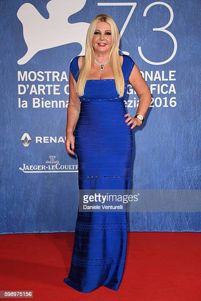Producer Lady Monika Bacardi attends the premiere of 'In Dubious Battle' during the 73rd Venice Film Festival at Sala Giardino on September 3 2016 in...