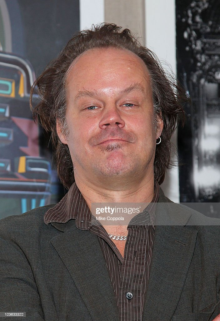 Producer Larry Fessenden attends the 'Stake Land' premiere at The Film Society of Lincoln Center on October 27, 2010 in New York City.