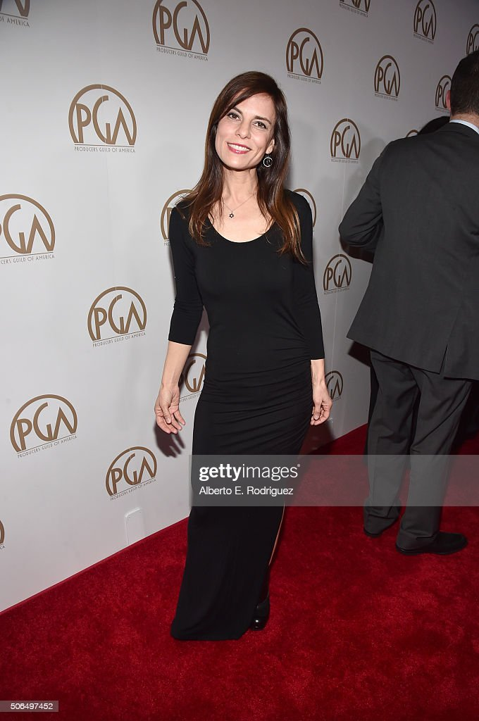 Producer Lati Grobman attends the 27th Annual Producers Guild Of America Awards at the Hyatt Regency Century Plaza on January 23, 2016 in Century City, California.
