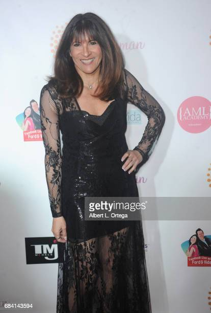 Producer Lauree Dash at Sai Suman's Official Hollywood Runway Fashion Show held at Sofitel Hotel on April 11 2017 in Los Angeles California