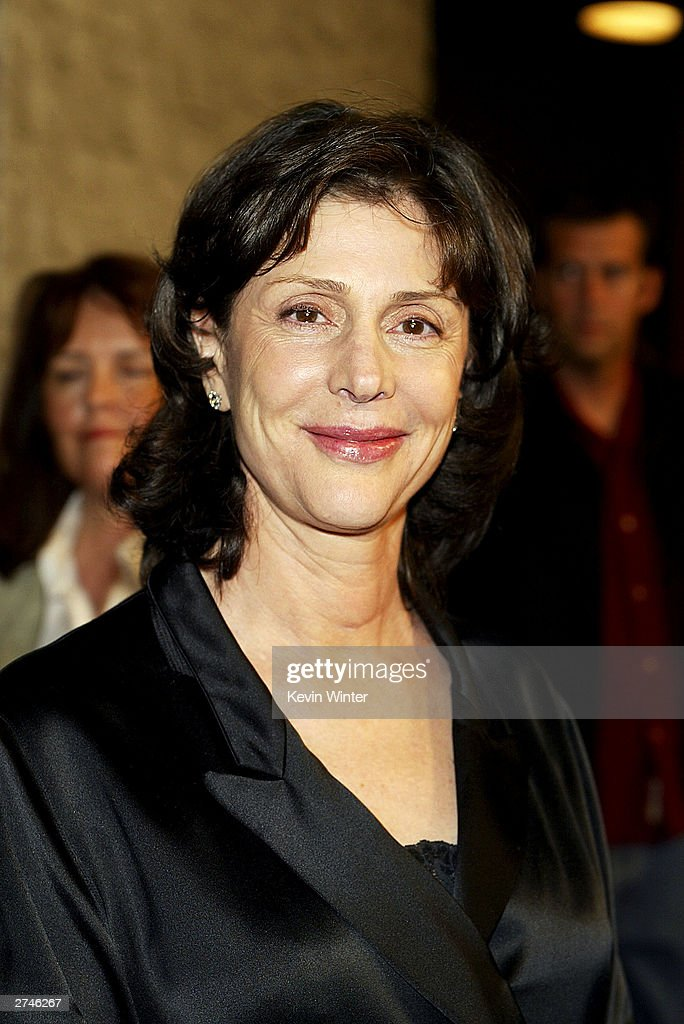 Producer Lauren Shuler Donner arrives at the premiere of 'Timeline' at the National Theatre on November 19, 2003 in Los Angeles, California.