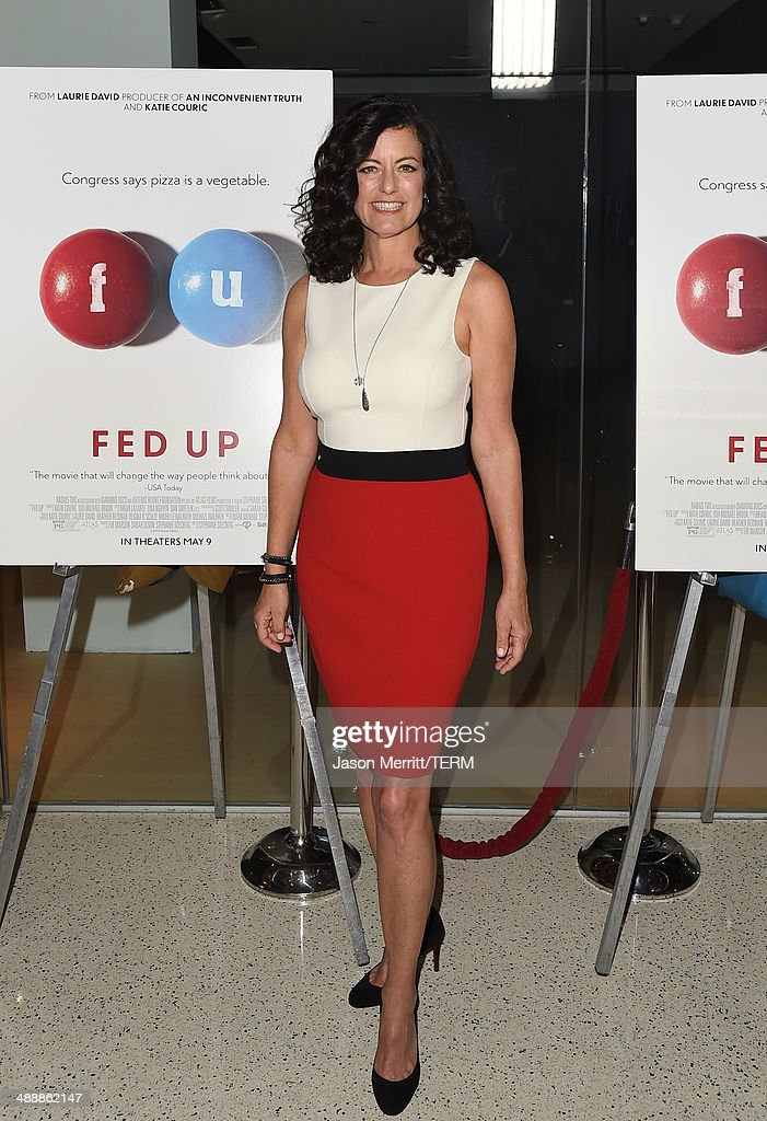 Producer <a gi-track='captionPersonalityLinkClicked' href=/galleries/search?phrase=Laurie+David&family=editorial&specificpeople=556147 ng-click='$event.stopPropagation()'>Laurie David</a> attends the 'Fed Up' premiere held at the Pacfic Design Center on May 8, 2014 in West Hollywood, California.
