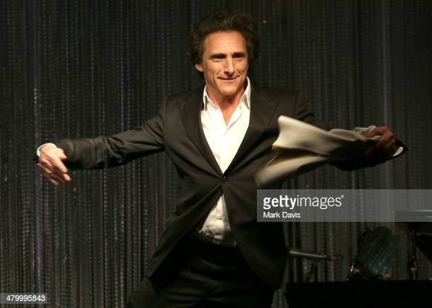 Producer Lawrence Bender performs at the UCLA Institute Of The Environment And Sustainability 'An Evening Of Environmental Excellence' held at a...
