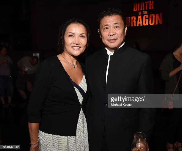 Producer Leo Shi Young attends the after party of the Los Angeles special screening of Birth of the Dragon at ArcLight Cinemas on August 17 2017 in...