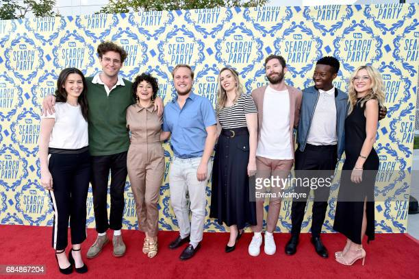 Producer Lilly Burns actors John Reynolds Alia Shawkat John Early producers SarahViolet Bliss and Charles Rogers and actors Brandon Micheal Hall and...