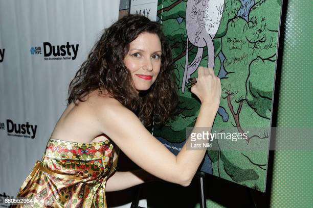 Producer Linda Beck attends the 28th Dusty Film Animation Festival at SVA Theater on May 8 2017 in New York City