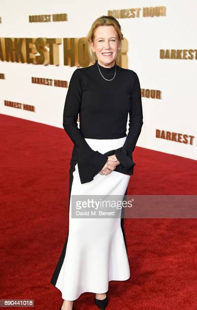 Producer Lisa Bruce attends the UK Premiere of 'Darkest Hour' at Odeon Leicester Square on December 11 2017 in London England