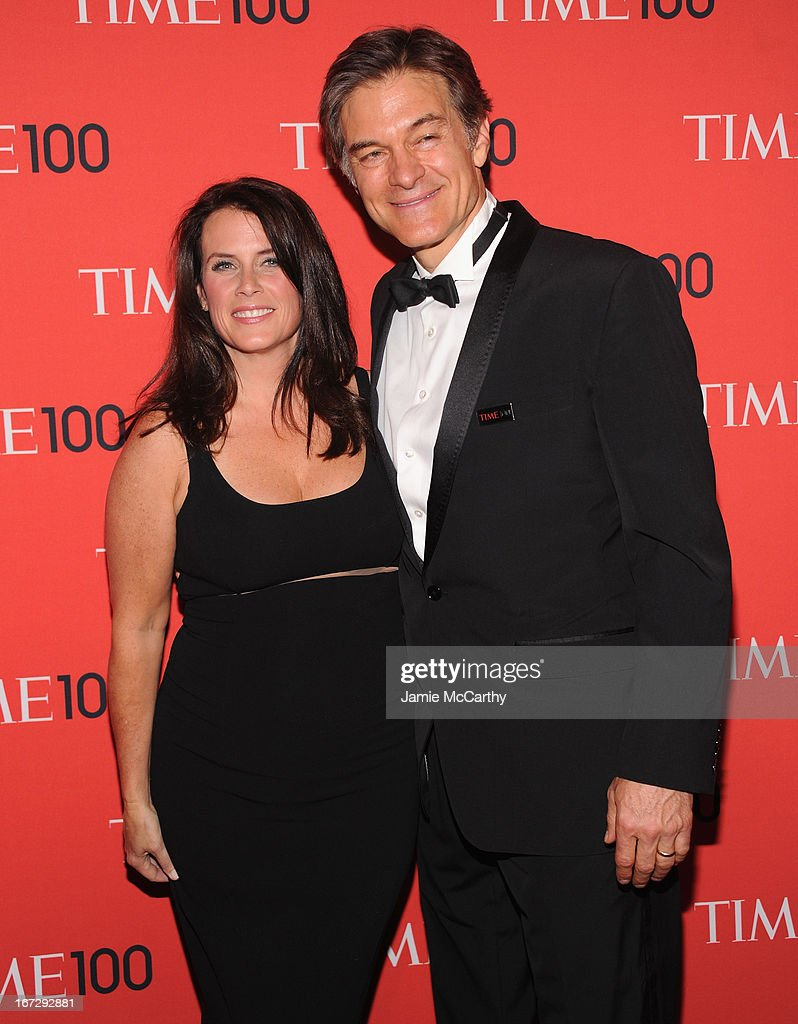 Producer Lisa Oz and Dr. Mehmet Oz attend the 2013 Time 100 Gala at Frederick P. Rose Hall, Jazz at Lincoln Center on April 23, 2013 in New York City.