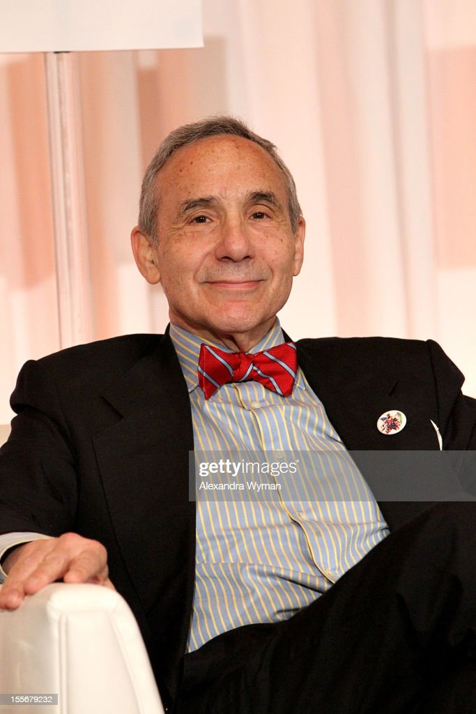 Producer Lloyd Kaufman speaks at the Micro-Budget Marketplace: It's a Business! at the Fairmont Miramar Hotel on November 6, 2012 in Santa Monica, California.