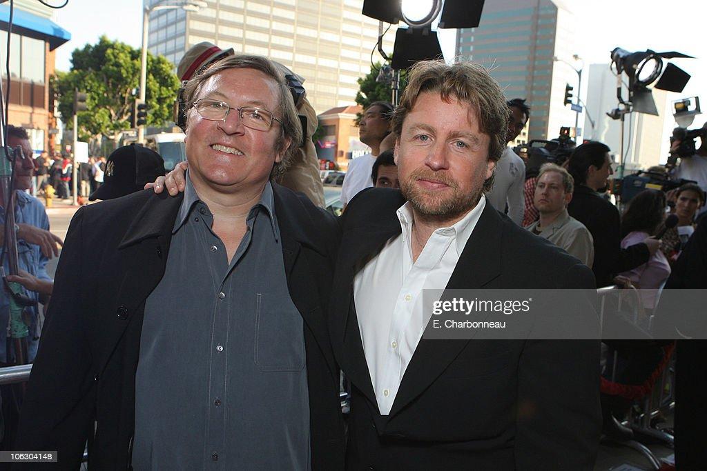 Producer Lorenzo di Bonaventura and Director Mikael Hafstrom