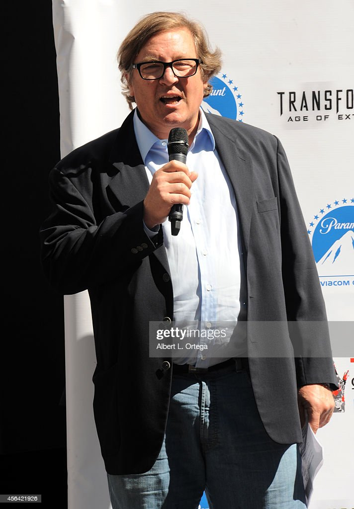 Producer Lorenzo di Bonaventura at the Optimus Prime hand and footprint ceremony held at TCL Chinese Theatre IMAX on September 30 2014 in Hollywood...