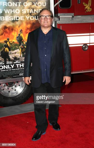 Producer Lorenzo di Bonaventura attends the premiere of Columbia Pictures' 'Only the Brave' at Regency Village Theatre on October 8 2017 in Westwood...