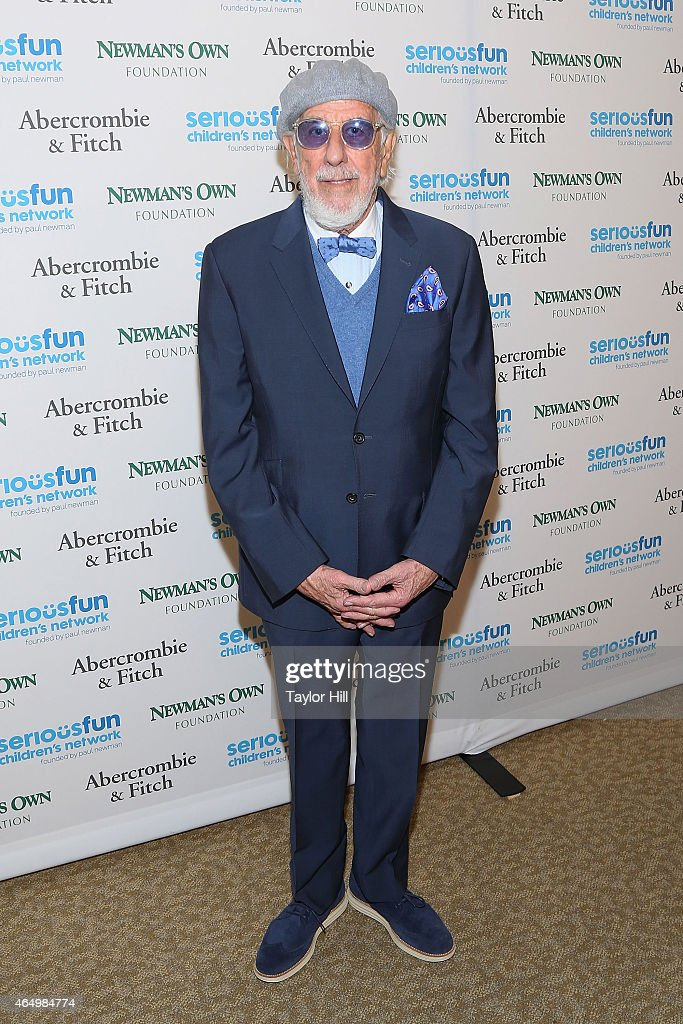 Producer Lou Adler attends the SeriousFun Children's Network's New York City Gala at Avery Fisher Hall on March 2, 2015 in New York City.