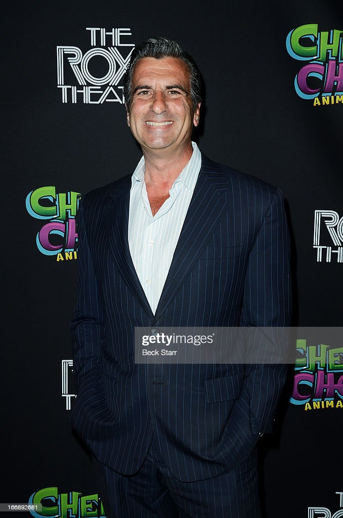 Producer Lou Volpini arrives at 'Cheech And Chong's Animated Movie!' VIP green carpet premiere at The Roxy Theatre on April 17, 2013 in West Hollywood, California.