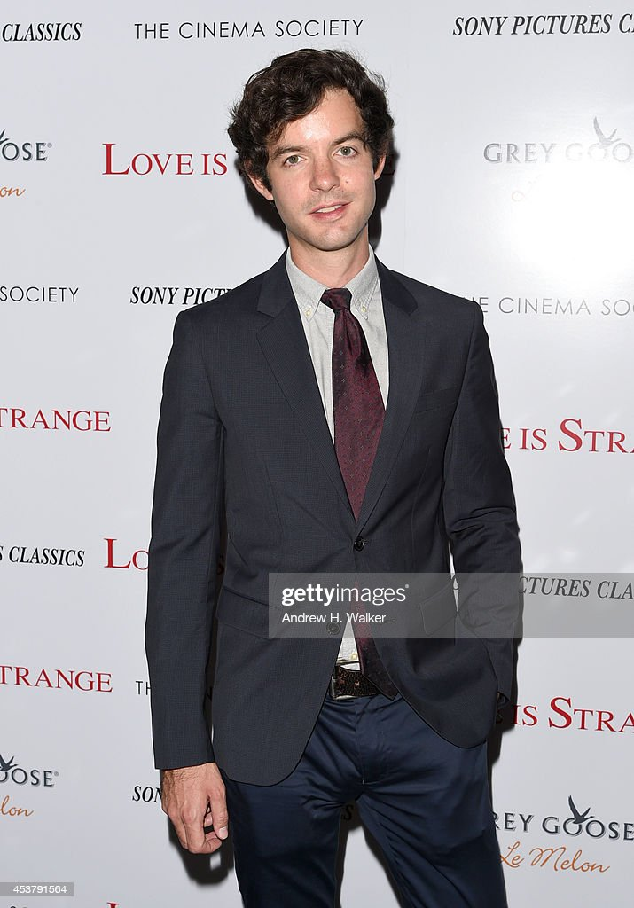 Producer Lucas Joaquin attends the Sony Pictures Classics with The Cinema Society & Grey Goose screening of 'Love is Strange' at Tribeca Grand Hotel on August 18, 2014 in New York City.