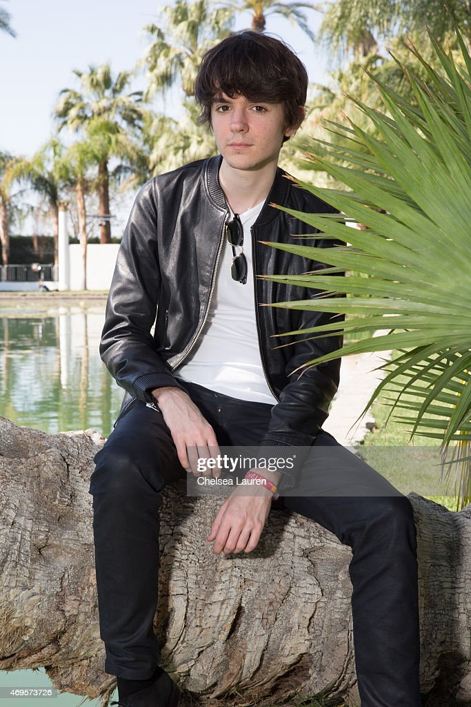 Producer <a gi-track='captionPersonalityLinkClicked' href=/galleries/search?phrase=Madeon&family=editorial&specificpeople=9131513 ng-click='$event.stopPropagation()'>Madeon</a> poses backstage at the Coachella Valley Music and Arts Festival at The Empire Polo Club on April 12, 2015 in Indio, California.