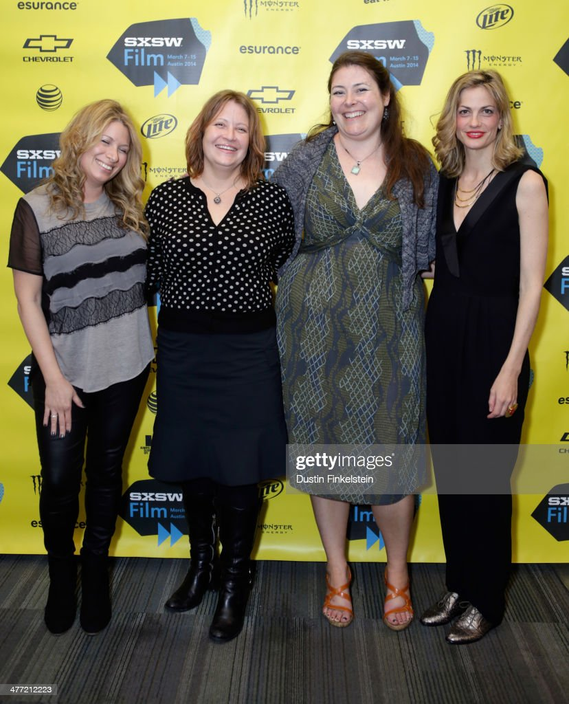 Producer Mandy Tagger, director Jen McGowan, writer Amy Lowe Starbin and producer Adi Ezroni attend the 'Kelly & Cal' Photo Op and Q&A during the 2014 SXSW Music, Film + Interactive Festival at Rollins Theatre at The Long Center on March 7, 2014 in Austin, Texas.
