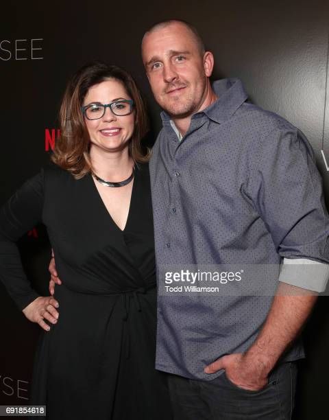 Producer Mandy Teefey and guest attend the Netflix's '13 Reasons Why' FYC Event at Netflix FYSee Space on June 2 2017 in Beverly Hills California