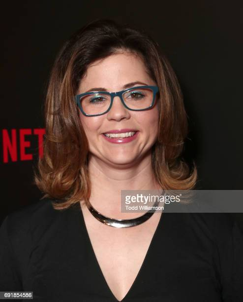 Producer Mandy Teefey attends the Netflix's '13 Reasons Why' FYC Event at Netflix FYSee Space on June 2 2017 in Beverly Hills California
