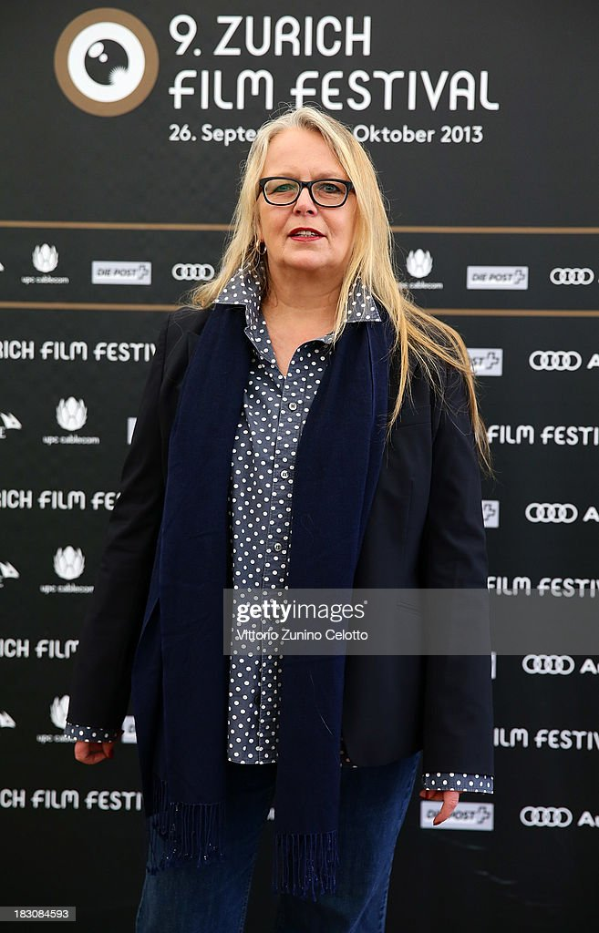 Producer Manuela Stehr, German Language Feature Film Jury Member, attends the Jury Photocall during the Zurich Film Festival 2013 on October 4, 2013 in Zurich, Switzerland.