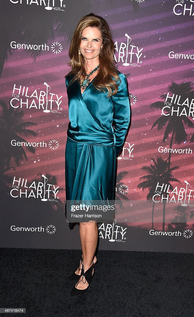 Producer Maria Shriverarrives at the 3rd Annual Los Angeles Hilarity for Charity Variety Show at Hollywood Palladium on October 17 2014 in Hollywood...