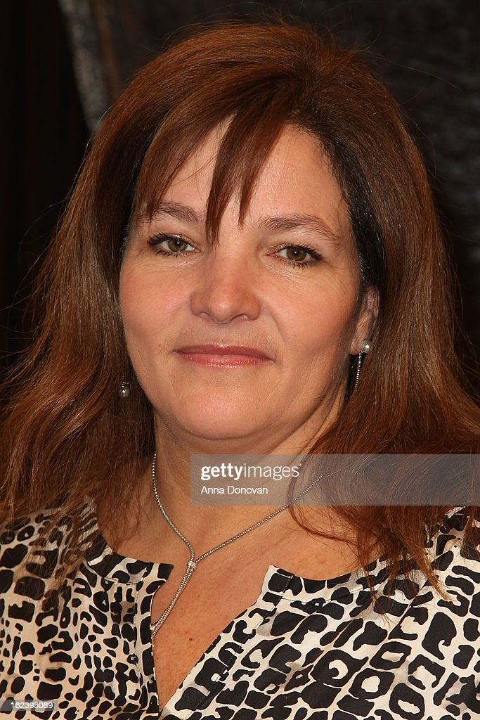 Producer MarieClaudee Poulin of the film 'War Witch' attends the 85th annual Academy Awards Foreign Language Film Award photoop held at the Dolby...