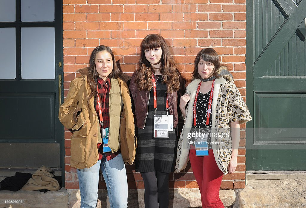 Producer Mariko Munro, actress Gina Piersanti and filmmaker Eliza Hittman attend the Acura Master Class - Emerging Women in Independent Film on January 22, 2013 in Park City, Utah.