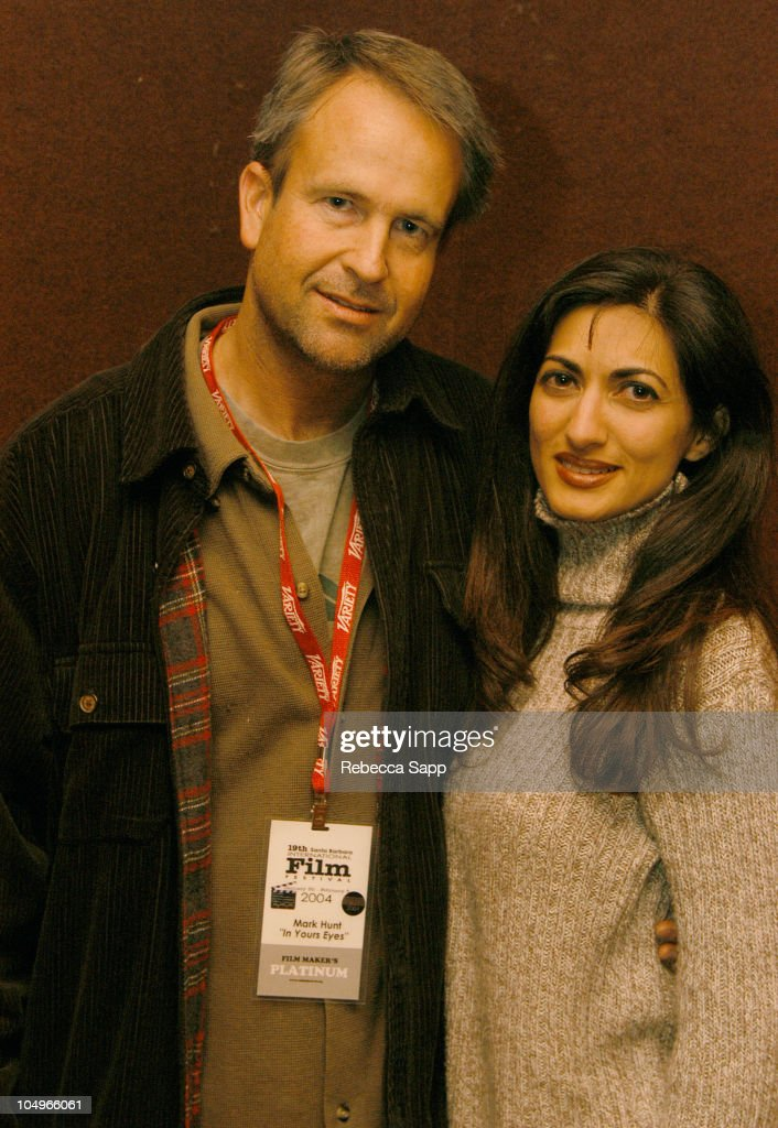 Producer Mark Ashton Hunt of 'In Your Eyes' and his wife Sheela Hunt