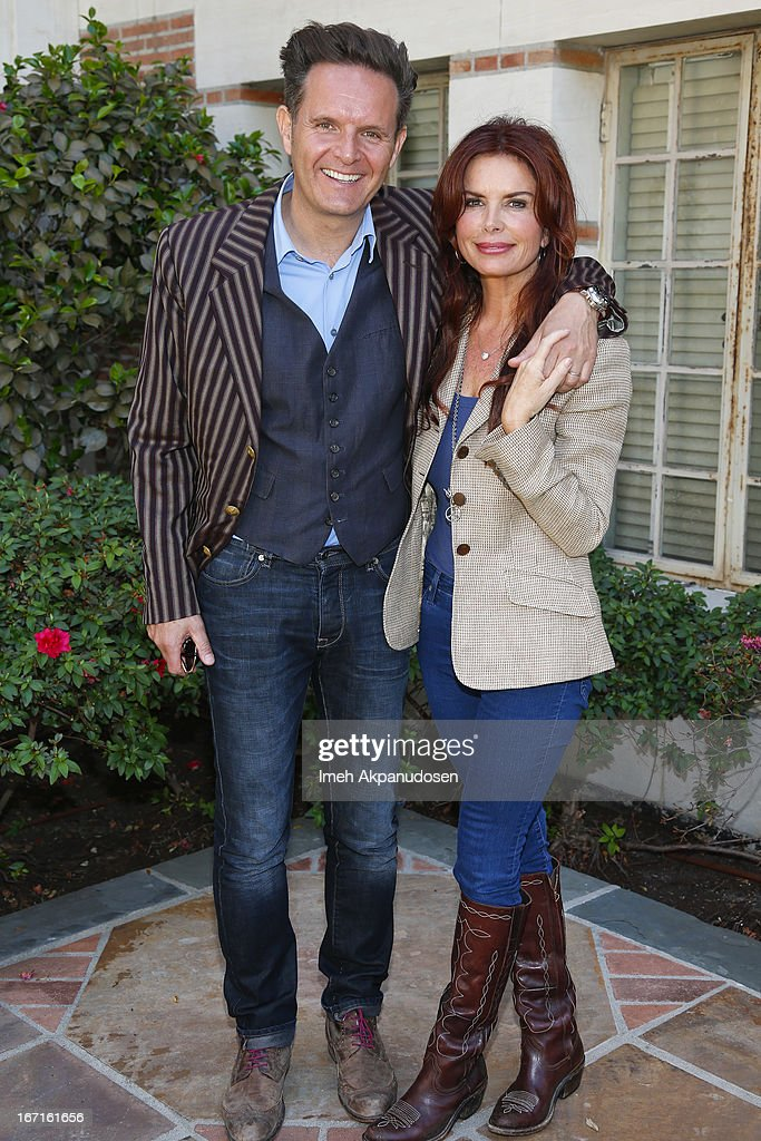 Producer <a gi-track='captionPersonalityLinkClicked' href=/galleries/search?phrase=Mark+Burnett&family=editorial&specificpeople=204697 ng-click='$event.stopPropagation()'>Mark Burnett</a> (L) and actress/producer <a gi-track='captionPersonalityLinkClicked' href=/galleries/search?phrase=Roma+Downey&family=editorial&specificpeople=214162 ng-click='$event.stopPropagation()'>Roma Downey</a> attend the 18th Annual LA Times Festival Of Books at USC on April 21, 2013 in Los Angeles, California.