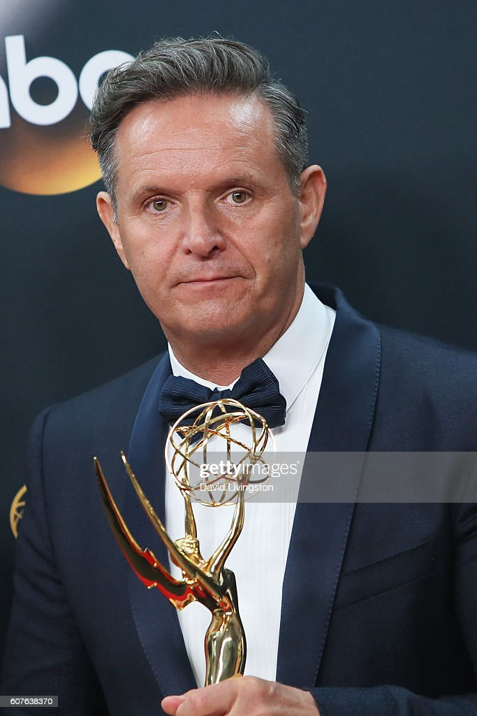Producer Mark Burnett, winner of the award for Outstanding Reality-Competition Series for 'The Voice,' poses in the 68th Annual Primetime Emmy Awards Press Room at the Microsoft Theater on September 18, 2016 in Los Angeles, California.