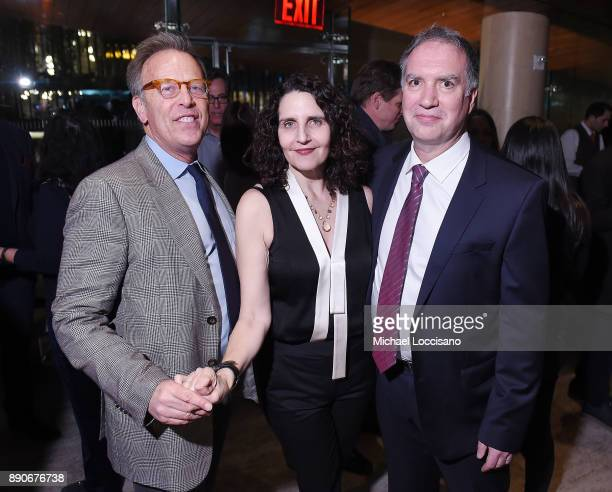 Producer Mark Johnson actress Tamara Jenkins and Screenwriter Jim Taylor attend the after party for the New York screening of 'Downsizing' at Lincoln...