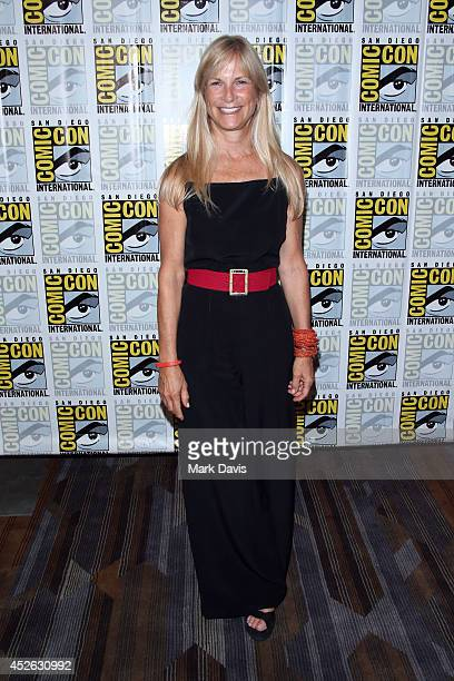 Producer Martha De Laurentiis attends NBC's 'Hannibal' press line during ComicCon International 2014 at Hilton Bayfront on July 24 2014 in San Diego...