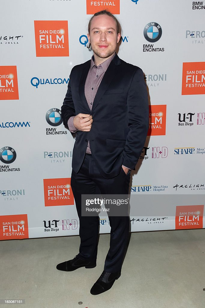 Producer Martin Jablonski arrives at San Diego Film Festival's tribute to honor <a gi-track='captionPersonalityLinkClicked' href=/galleries/search?phrase=Judd+Apatow&family=editorial&specificpeople=854225 ng-click='$event.stopPropagation()'>Judd Apatow</a> at Museum of Contemporary Art on October 3, 2013 in La Jolla, California.