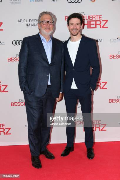 Producer Martin Moszkowicz and Oliver Berben during the 'Dieses bescheuerte Herz' premiere at Mathaeser Filmpalast on December 11 2017 in Munich...
