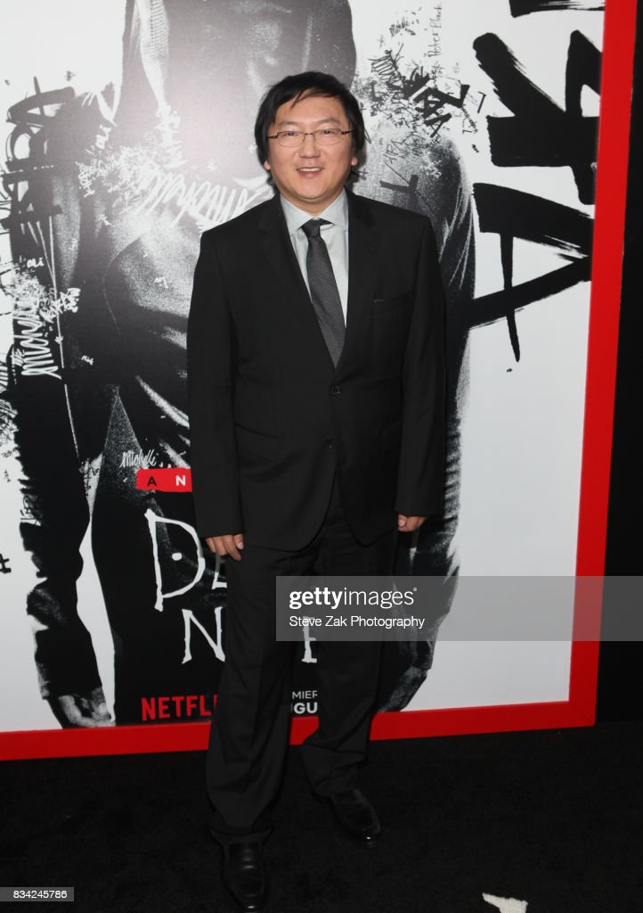 Producer Masi Oka attends'Death Note' New York premiere at AMC Loews Lincoln Square 13 theater on August 17, 2017 in New York City.