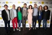 Producer Matthew Rhodes director of the Sundance Film Festival John Cooper director Marjane Satrapi actor Ryan Reynolds Gemma Arterton director of...