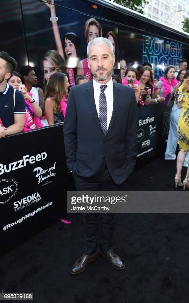 Producer Matthew Tolmach attends New York Premiere of Sony's ROUGH NIGHT presented by SVEDKA Vodka at AMC Lincoln Square Theater on June 12 2017 in...