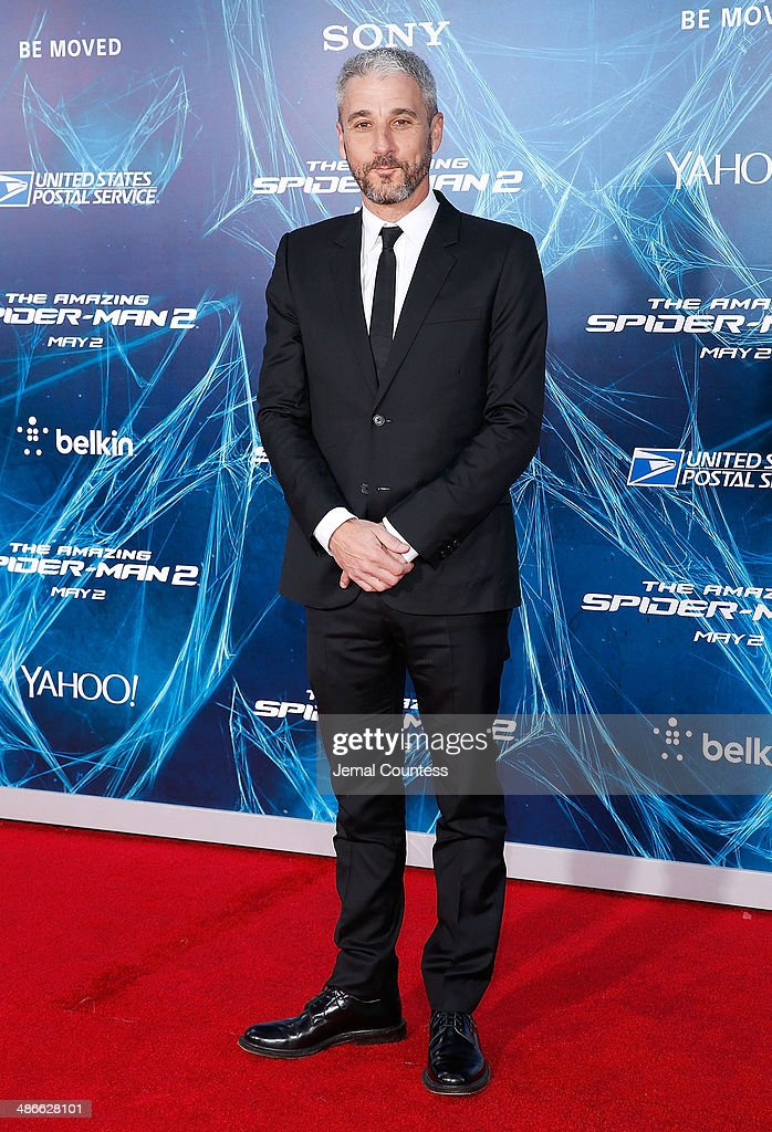 Producer Matthew Tolmach attends 'The Amazing Spider-Man 2' premiere at the Ziegfeld Theater on April 24, 2014 in New York City.