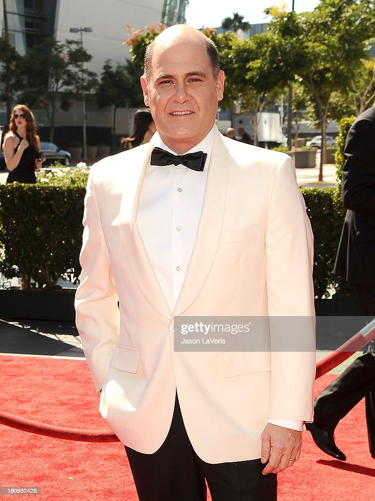 Producer Matthew Weiner attends the 2013 Creative Arts Emmy Awards at Nokia Theatre L.A. Live on September 15, 2013 in Los Angeles, California.