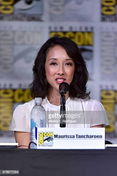Producer Maurissa Tancharoen attends the 'Marvel's Agents of SHIELD' panel during ComicCon International 2016 at San Diego Convention Center on July...
