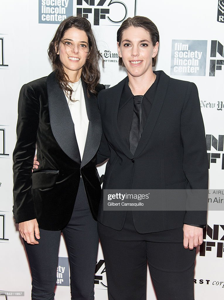 Producer Megan Ellison (R) attends the Closing Night Gala Presentation Of 'Her' during the 51st New York Film Festival at Alice Tully Hall at Lincoln Center on October 12, 2013 in New York City.