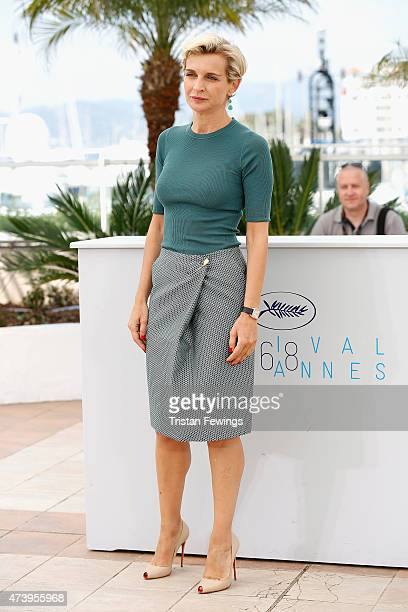 Producer Melita Toscan du Plantier attends the 'Masaan' Photocall during the 68th annual Cannes Film Festival on May 19 2015 in Cannes France