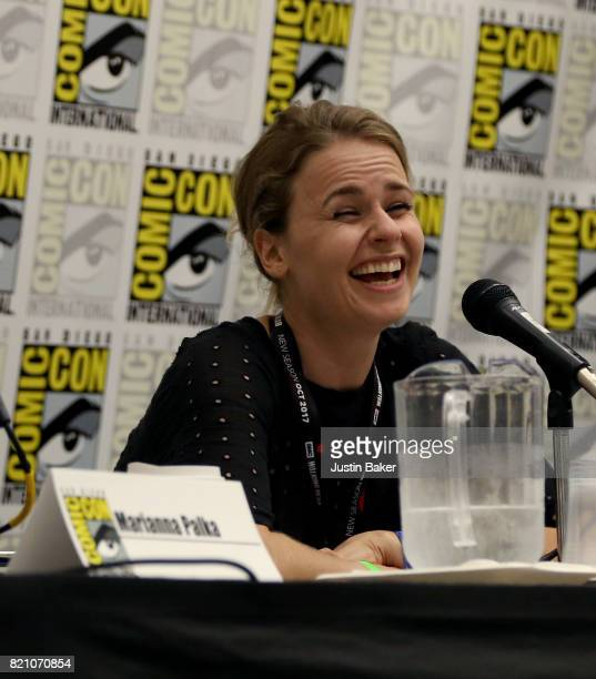 Producer Mette Marie Kongsved attends the Bold Voice of Contemporary Horror Panel at the 2017 ComicCon International on July 22 2017 in San Diego...