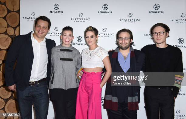 Producer Michael A Pruss Chief Content Officer of Refinery29 Amy Emmerich director Kristen Stewart producer David Shapiro and actor Josh Kaye attend...
