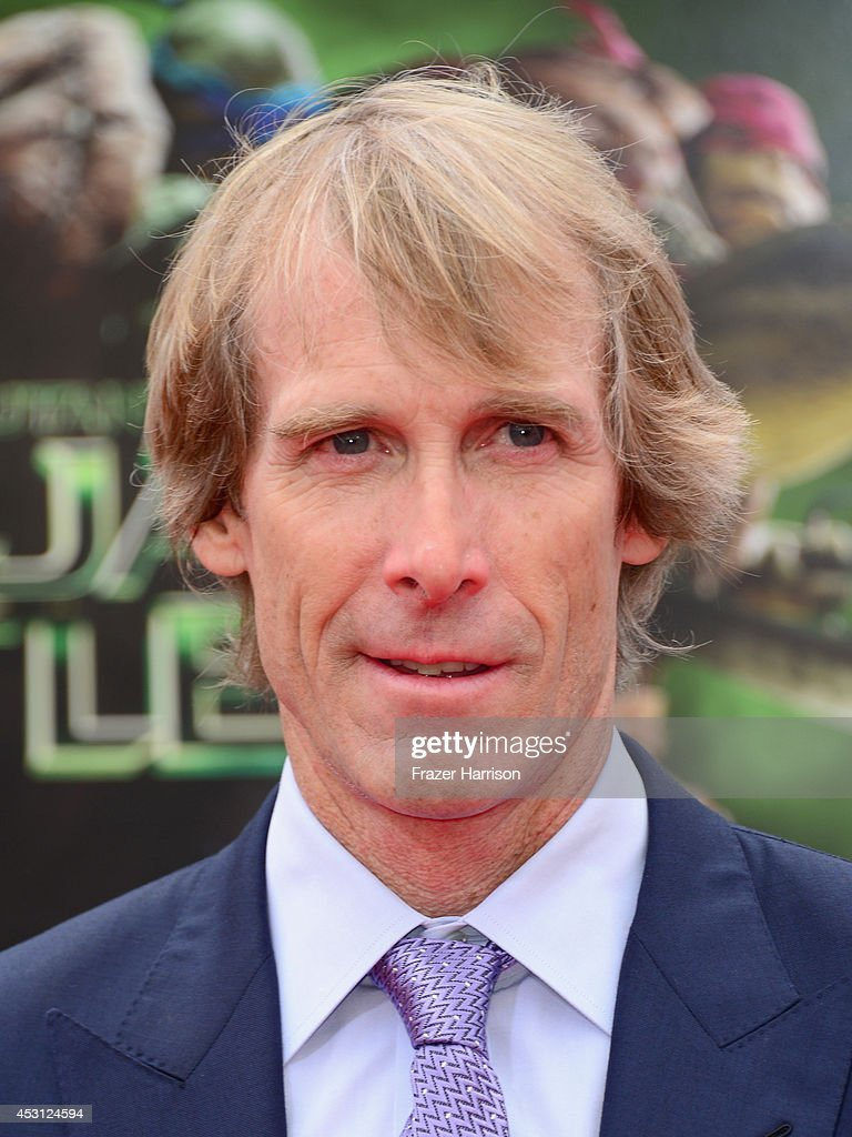 Producer <a gi-track='captionPersonalityLinkClicked' href=/galleries/search?phrase=Michael+Bay&family=editorial&specificpeople=240532 ng-click='$event.stopPropagation()'>Michael Bay</a> attends Paramount Pictures' 'Teenage Mutant Ninja Turtles' premiere at Regency Village Theatre on August 3, 2014 in Westwood, California.