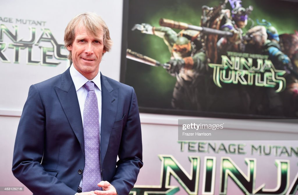 Producer Michael Bay attends Paramount Pictures' 'Teenage Mutant Ninja Turtles' premiere at Regency Village Theatre on August 3, 2014 in Westwood, California.